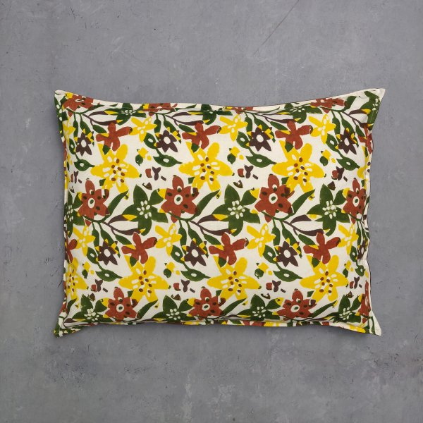 Handblock Pillow Cover HPC47