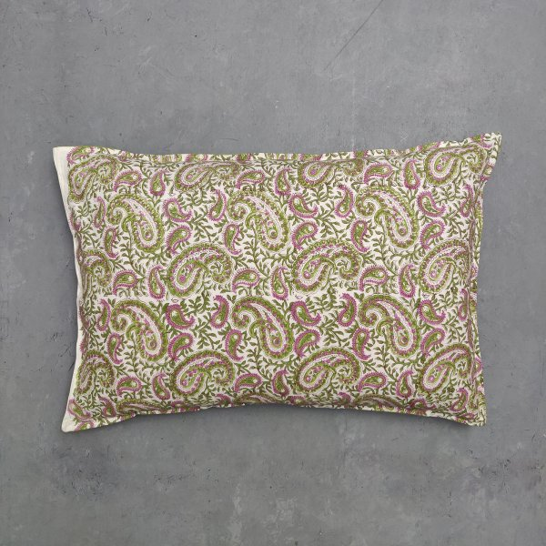 Handblock Pillow Cover HPC51