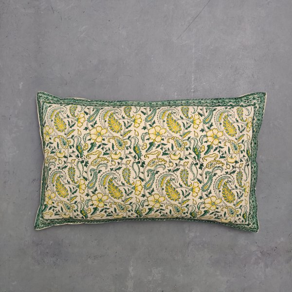 Handblock Pillow Cover HPC52