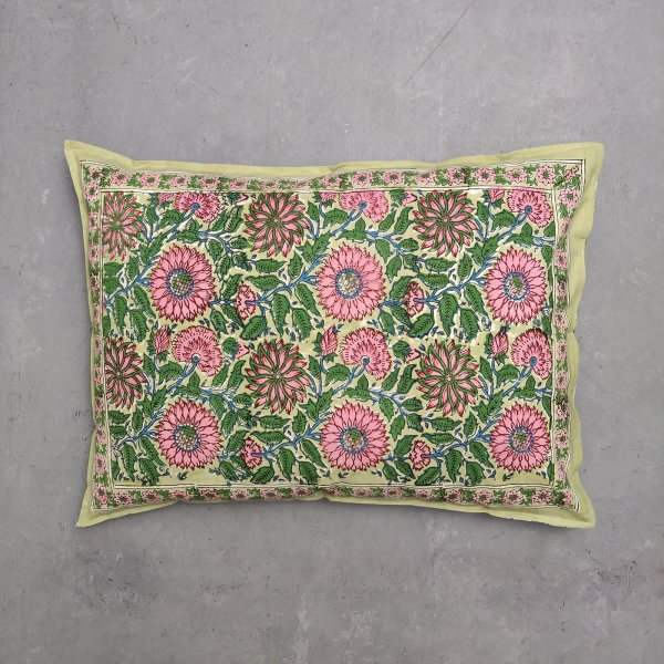 Handblock Pillow Cover HPC57