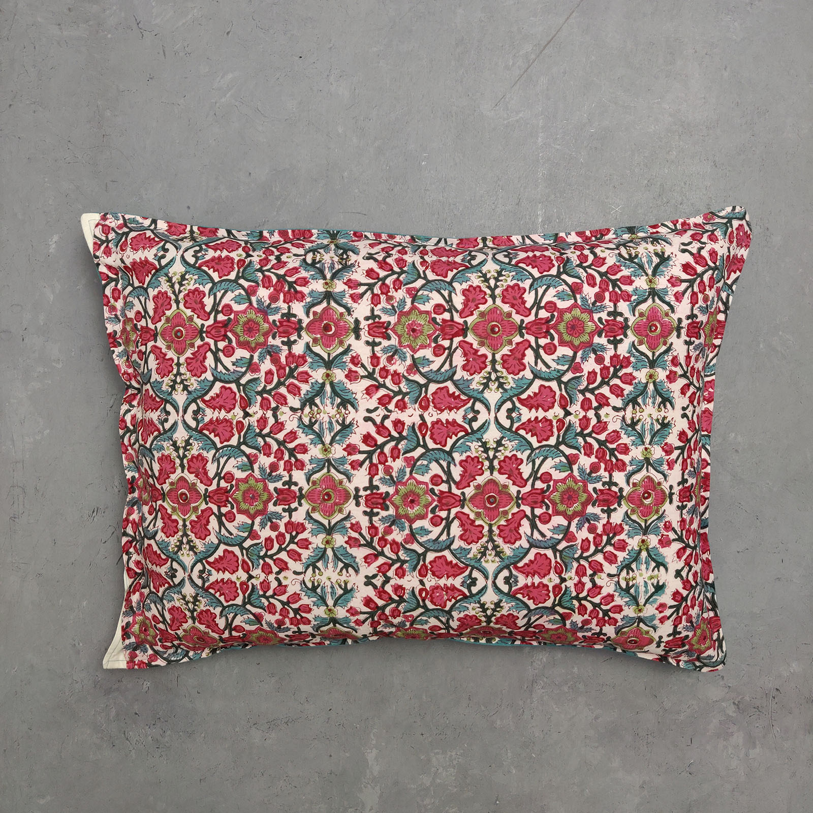 Handblock Pillow Cover HPC61