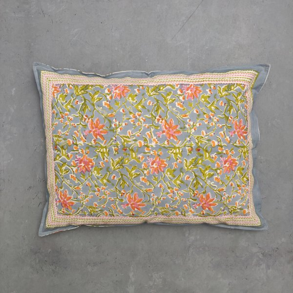 Handblock Pillow Cover HPC74