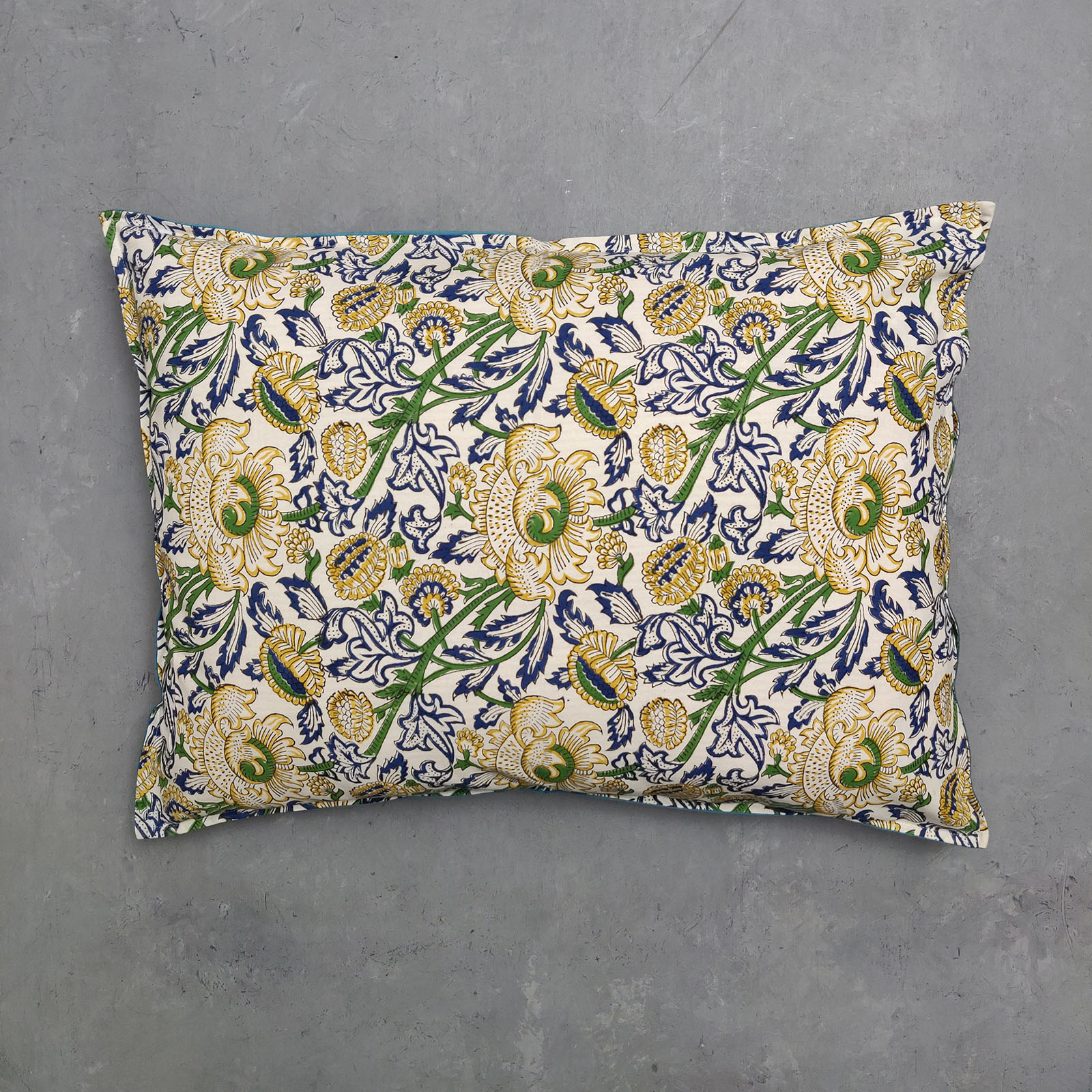 Handblock Pillow Cover HPC87