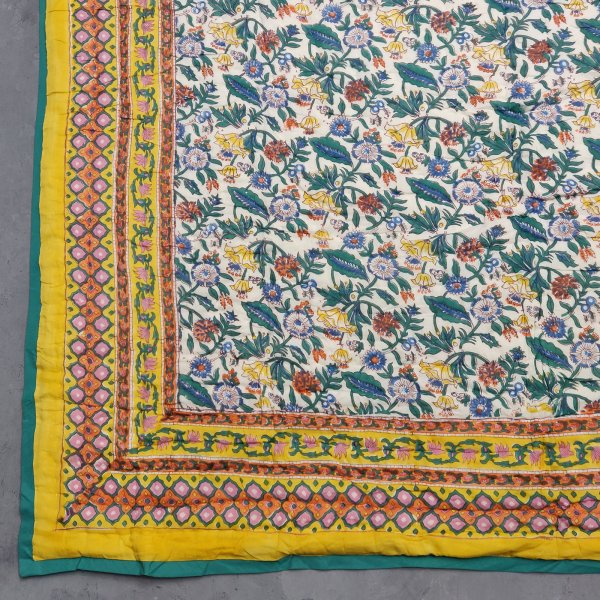 Single Size Quilt Handblock HQS52