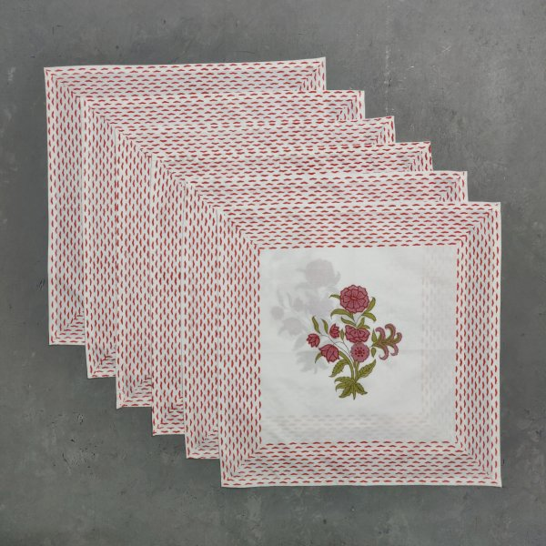 Handblock Table Napkins TN33