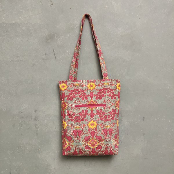 Handblock Printed Medium Canvas Tote Bag MCTB25