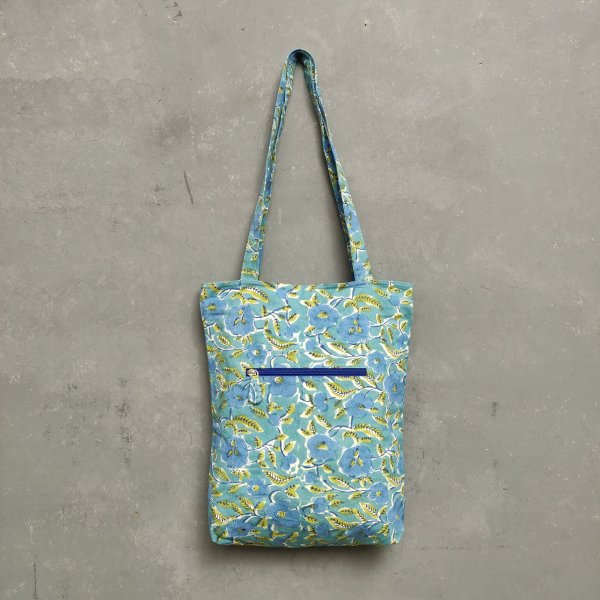 Handblock Printed Medium Canvas Tote Bag MCTB26