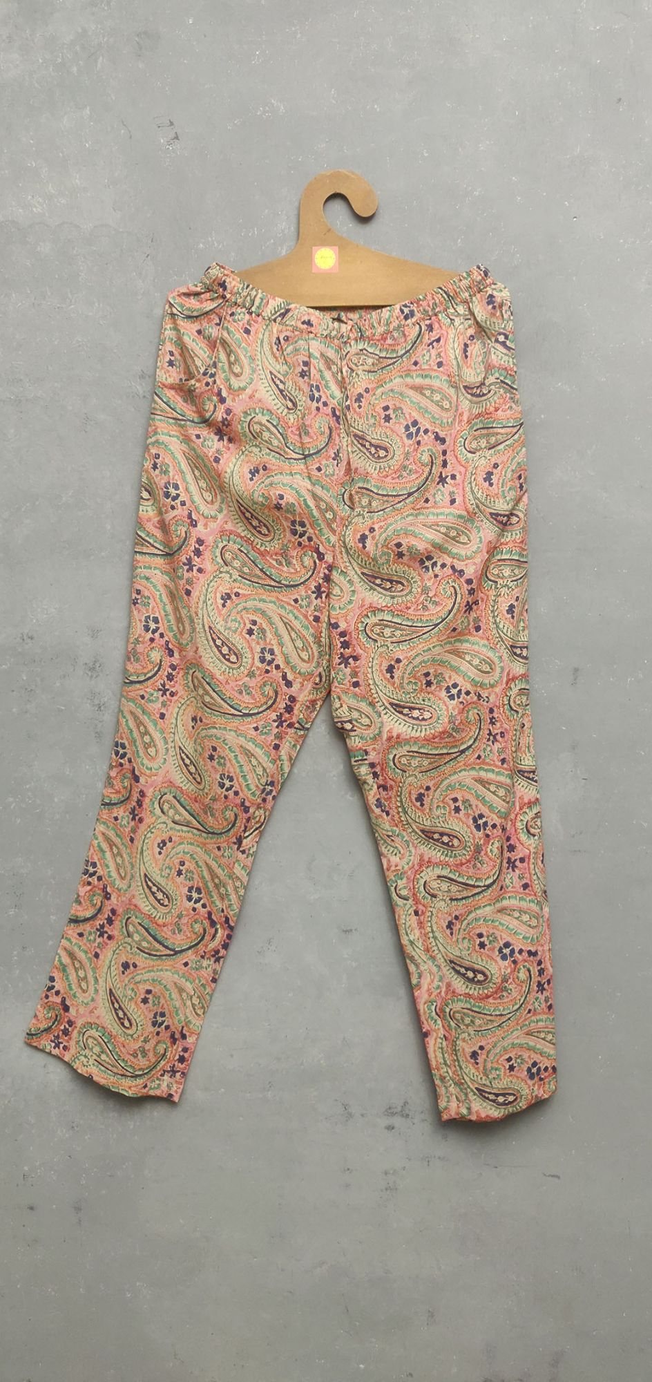 Pink Paisley Night Suit