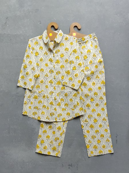 Cotton Handblock Print Night Suits WNS198