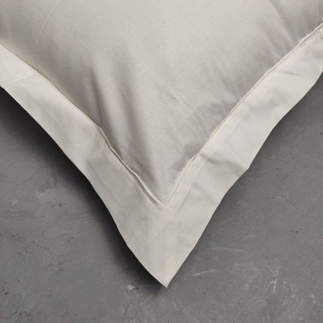 Plain Off White Pillow Cover