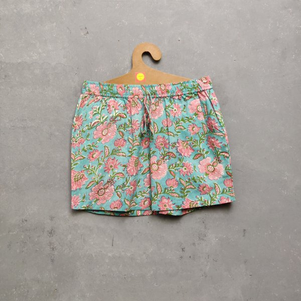 Handblock Printed Shorts/ Half Pants HP31