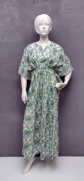 Gallilee Green Kaftan