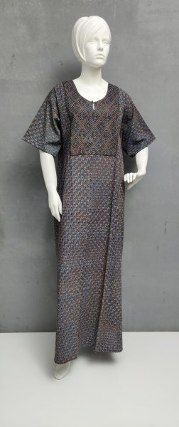 Ajrakh Handblock Printed Nighty WN249