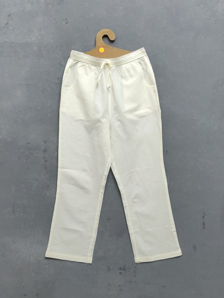 Off White Colour Pyjamas / Pants