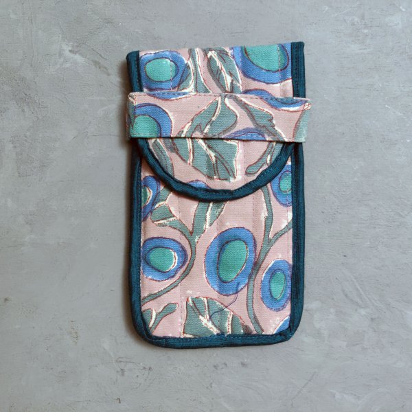 Peach  Spec and Mobile Pouch