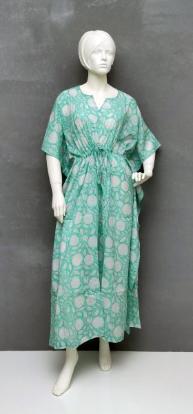 Sea Green Kaftan